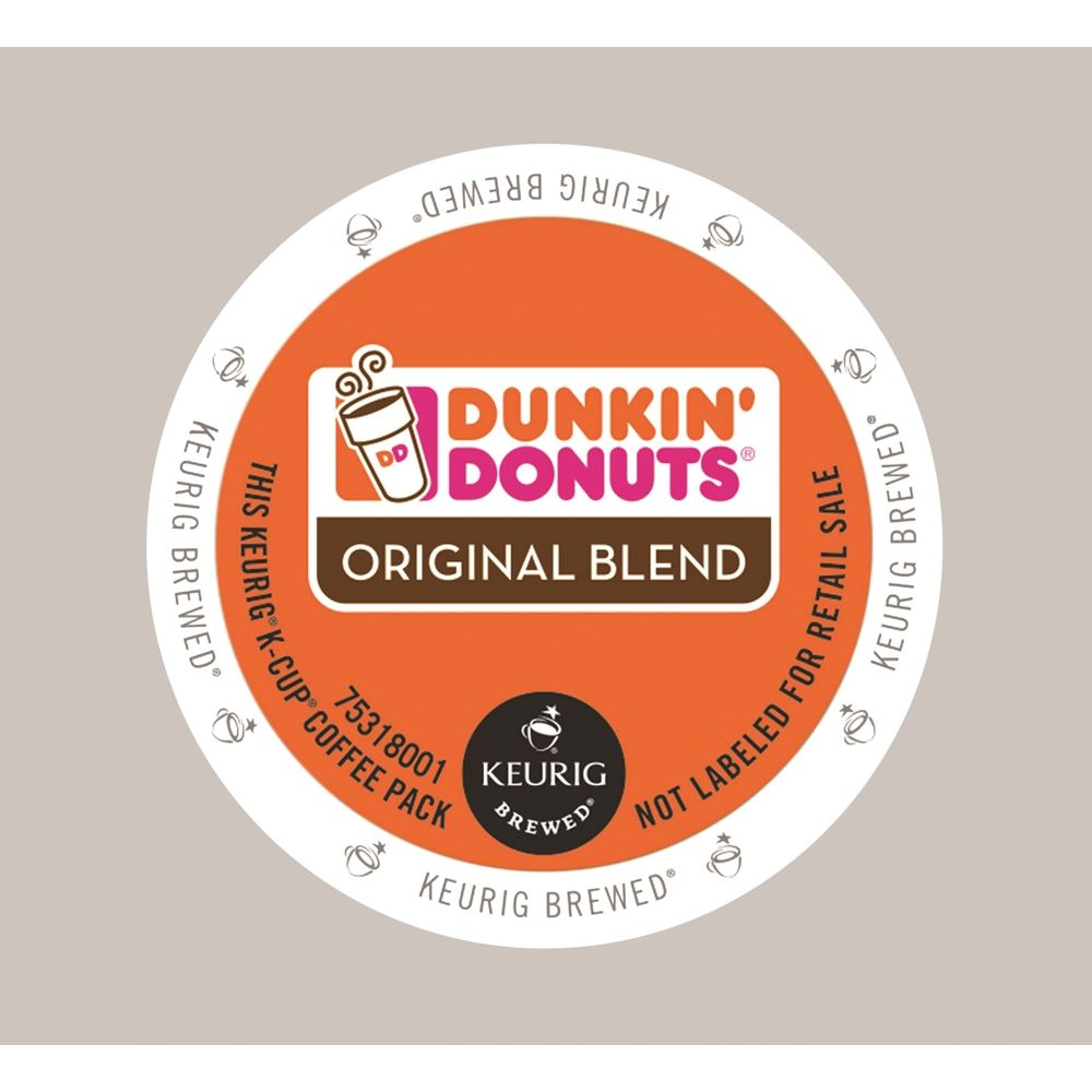 Dunkin' Donuts Original Blend Coffee K-Cup, Regular